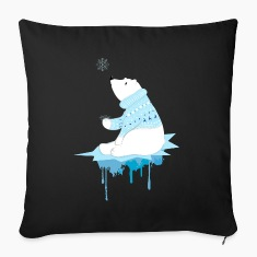 Polar bear with snowflakes Other