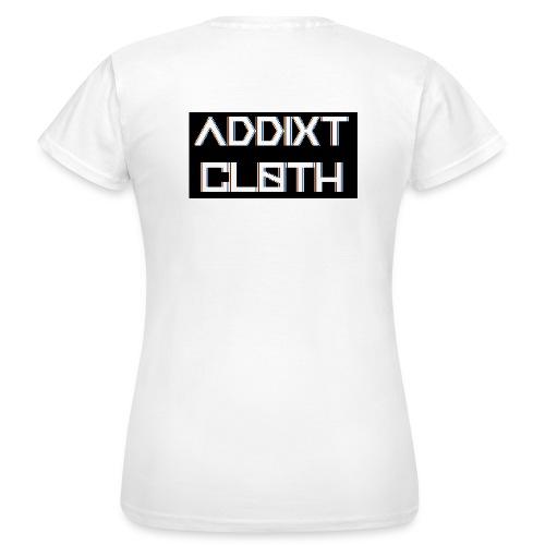 RS&B ADDIXT CLOTH White T (Women) - Women's T-Shirt