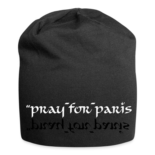 #pray_for_paris - Bonnet en jersey