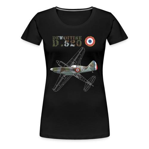 Dewoitine D.520 Woman's T-shirt  - Women's Premium T-Shirt