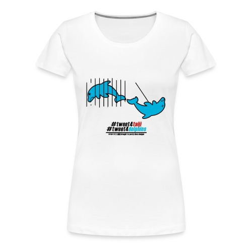 Womans Dolphin T-Shirt - Women's Premium T-Shirt