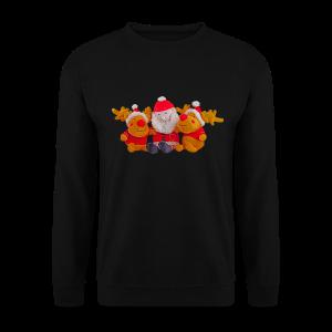 Weihnachtsmann Rentier Männer Pulli - Männer Pullover