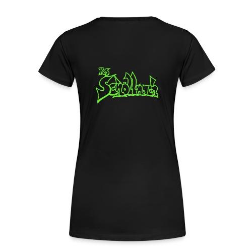 Frauen Premium T-Shirt schwarz (Größe S-M-L-XL) - Frauen Premium T-Shirt