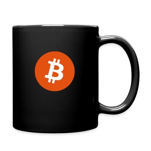 Bitcoin-Tasse - Tasse einfarbig