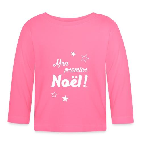 T-Shirt Bébé Mon premier Noël - T-shirt manches longues Bébé