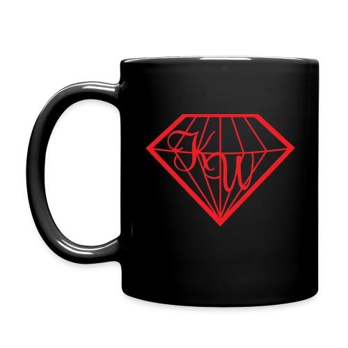 Diamond Mug Black 2 - Tasse einfarbig