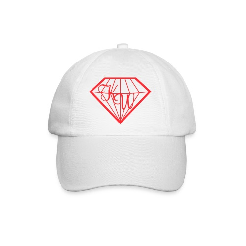 Diamond CAP White - Baseballkappe