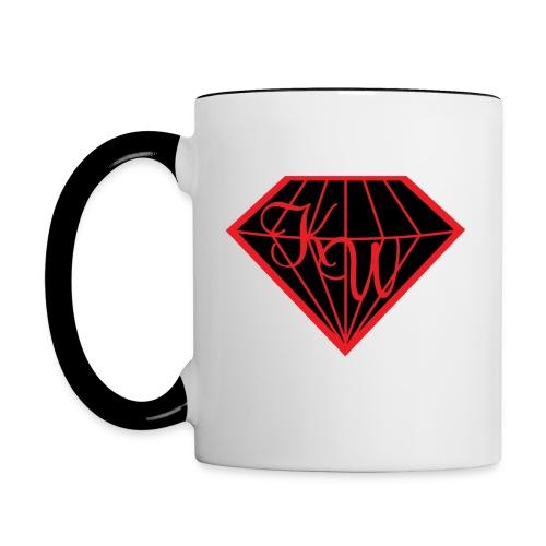 Diamond Mug W/B 2.0 - Tasse zweifarbig
