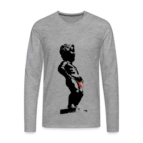 Mannekannot Pis - Men's Premium Longsleeve Shirt
