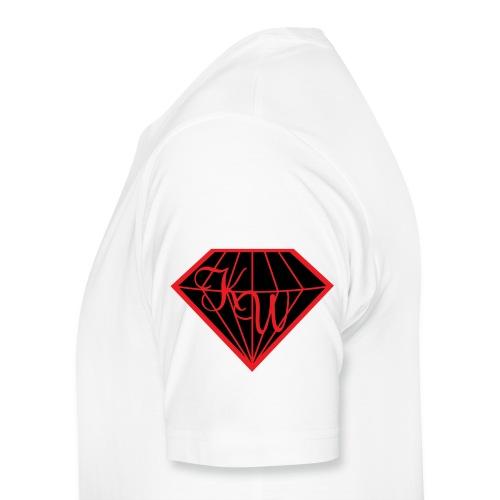 Diamond T-Shirt White 2.0 - Männer Premium T-Shirt