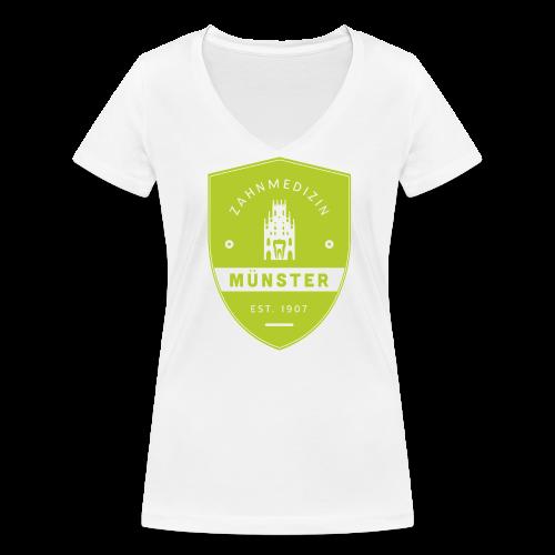 Frauen T-Shirt V-Ausschnitt - Frauen Bio-T-Shirt mit V-Ausschnitt von Stanley & Stella
