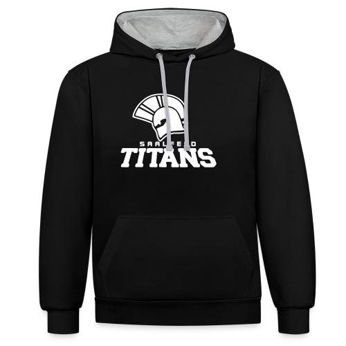 Kapuzenpullover Titans II, black Edition - Kontrast-Hoodie