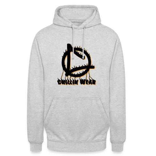 Chillin Wear - flamme  - Sweat-shirt à capuche unisexe
