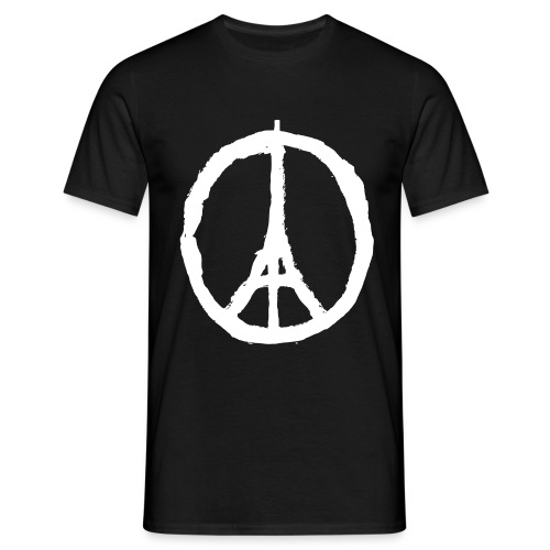 Peace for Paris - Tee shirt Homme - Men's T-Shirt