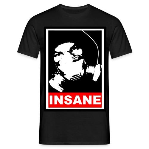 1n54n3 - Gasmask - Männer T-Shirt