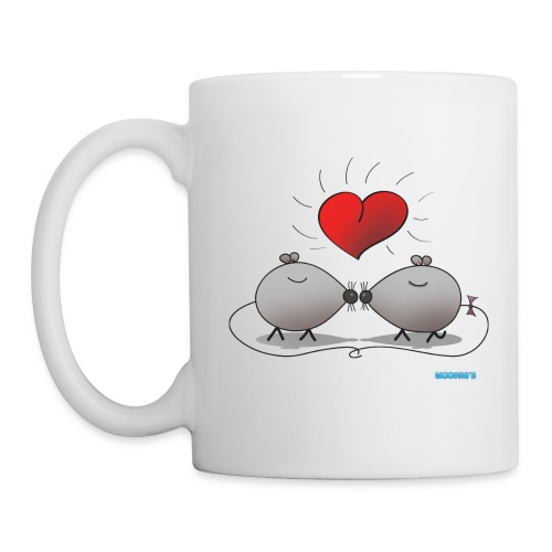 Mug Kissing Mice - Mug