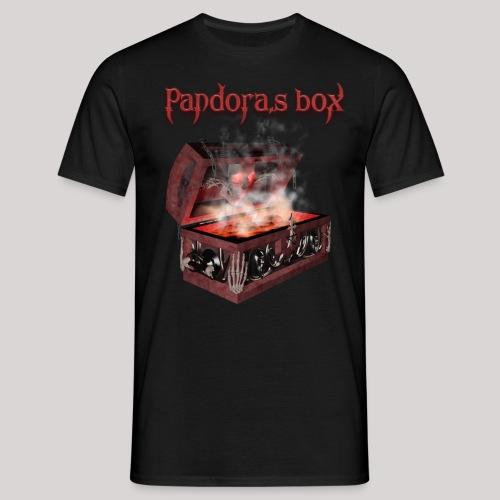 Pandora`s box - Mannen T-shirt