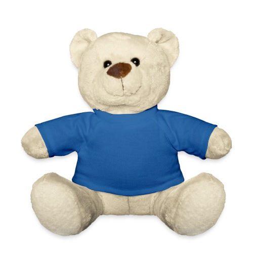 Nounours peluche - T-shirt bleu - Nounours