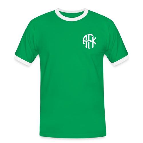 Jubileumstrøye - AFK2015 - Kontrast-T-skjorte for menn