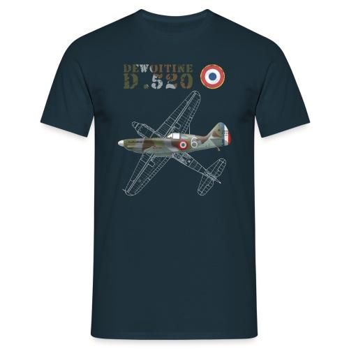 Dewoitine D.520 Man's T-shirt  - Men's T-Shirt
