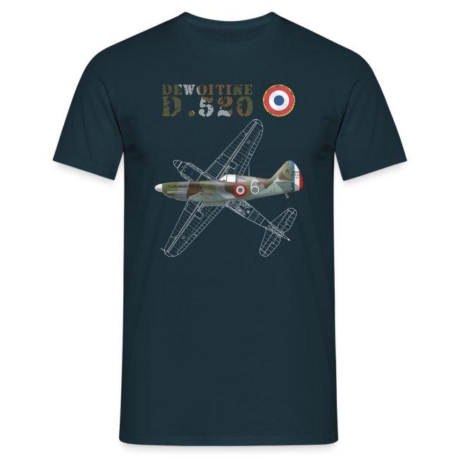 Dewoitine D.520 Man's T-shirt