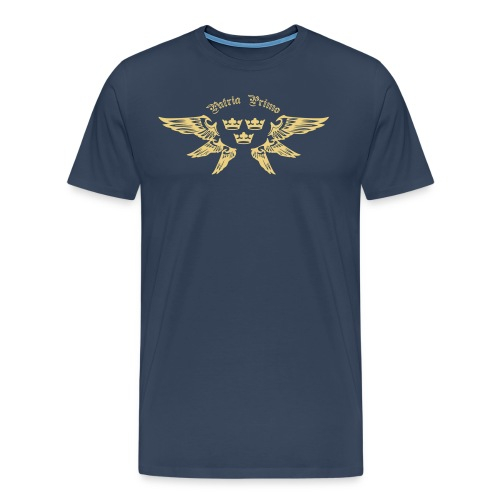 Fosterlandet Först (Herr) - Premium-T-shirt herr