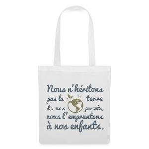 Tote Bag La Terre - Tote Bag