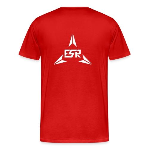fsr_new_back_red_premium - Männer Premium T-Shirt