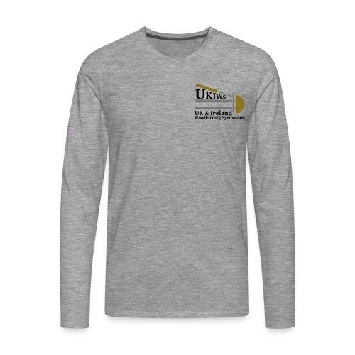 UKIWS Long Sleeve T-Shirt - Men's Premium Longsleeve Shirt