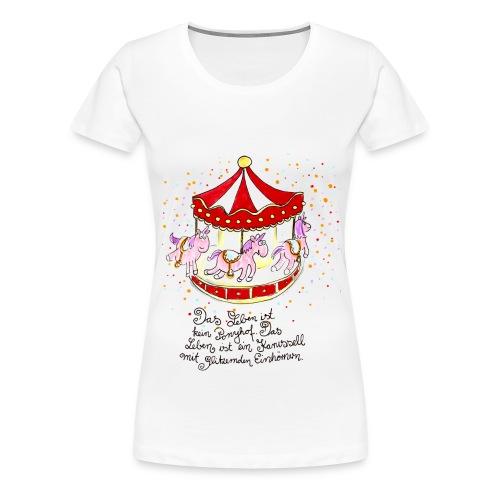 licornes carrousel  - T-shirt Premium Femme