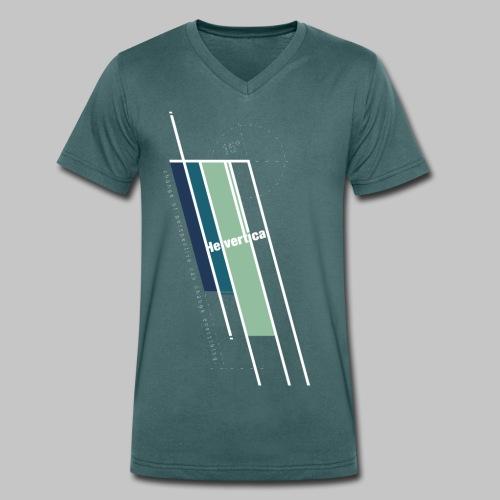 Helvertical - Männer Bio-T-Shirt mit V-Ausschnitt von Stanley & Stella