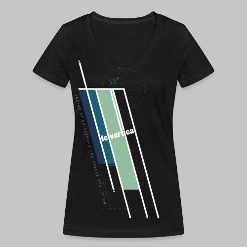 Helvertical - Frauen Bio-T-Shirt mit V-Ausschnitt von Stanley & Stella