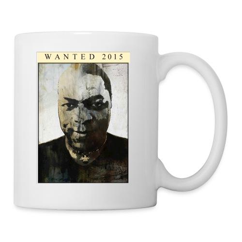 cup wanted 2015 - Mug blanc
