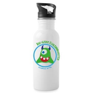 PCD Trinkflasche Schleimmonster dunkle Hörnchen - Trinkflasche