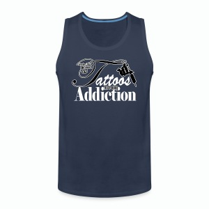 Tattoo Addiction Men's Premium Tank Top - Men's Premium Tank Top