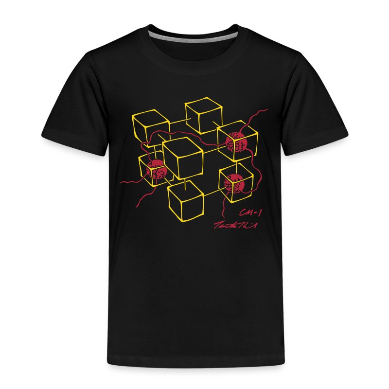 CM-1 Logo kid's black/red - Kids' Premium T-Shirt