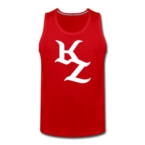 Rot-Weises KillZoN Tanktop - Men's Premium Tank Top