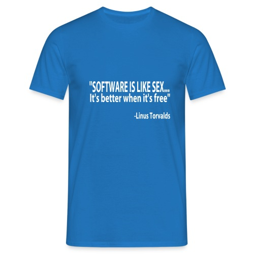 Free Software (multicolor) - Men's T-Shirt
