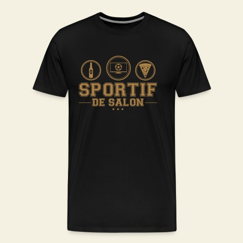 Sportif de salon - T-shirt Premium Homme