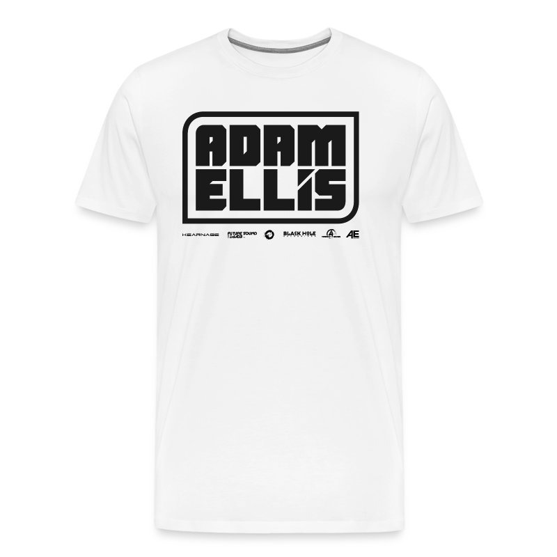 Adam Ellis - Mens - White (Classic Cut) - Men's Premium T-Shirt
