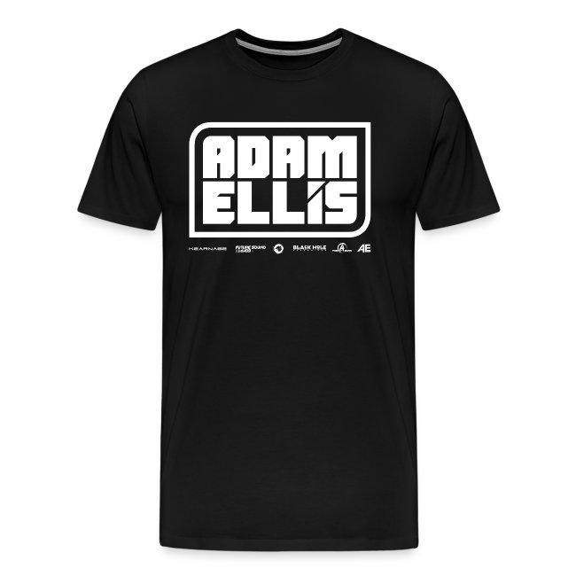 Adam Ellis - Mens -  Black (Classic Cut)