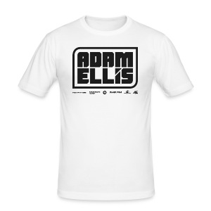 Adam Ellis - Mens - White (Slim Fit) - Men's Slim Fit T-Shirt
