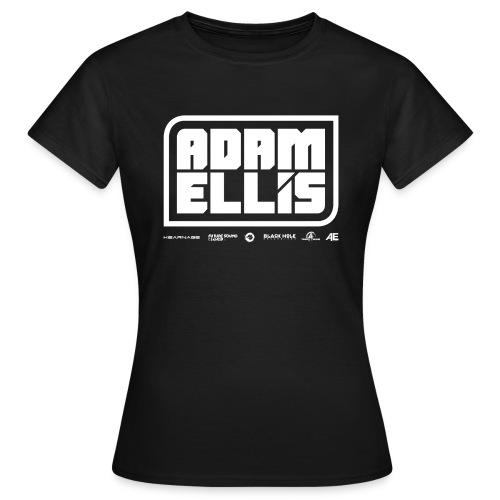 Adam Ellis - Womens - Black  - Women's T-Shirt