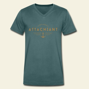 Attachiant - T-shirt Homme col V