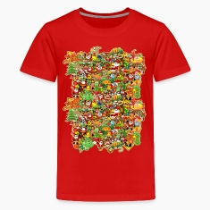 In Christmas Melt into the Crowd and Enjoy Shirts