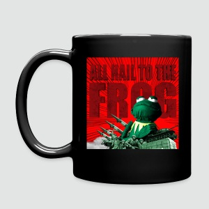 Tasse All hail to the frog - Tasse einfarbig