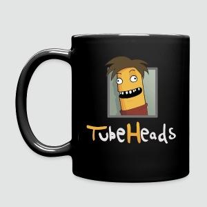 TubeHeads Logo-Tasse schwarz - Tasse einfarbig