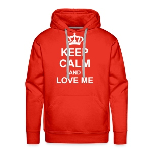 KEEP CALM - Sweat-shirt à capuche Premium pour hommes