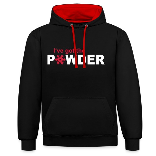 I've got the Powder - Mens - Contrast Colour Hoodie