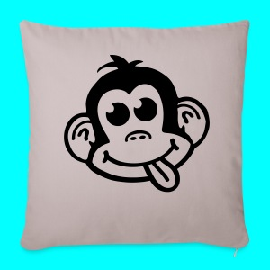 Cheeky Monkey Logo Pillow - Sofa pillow cover 44 x 44 cm